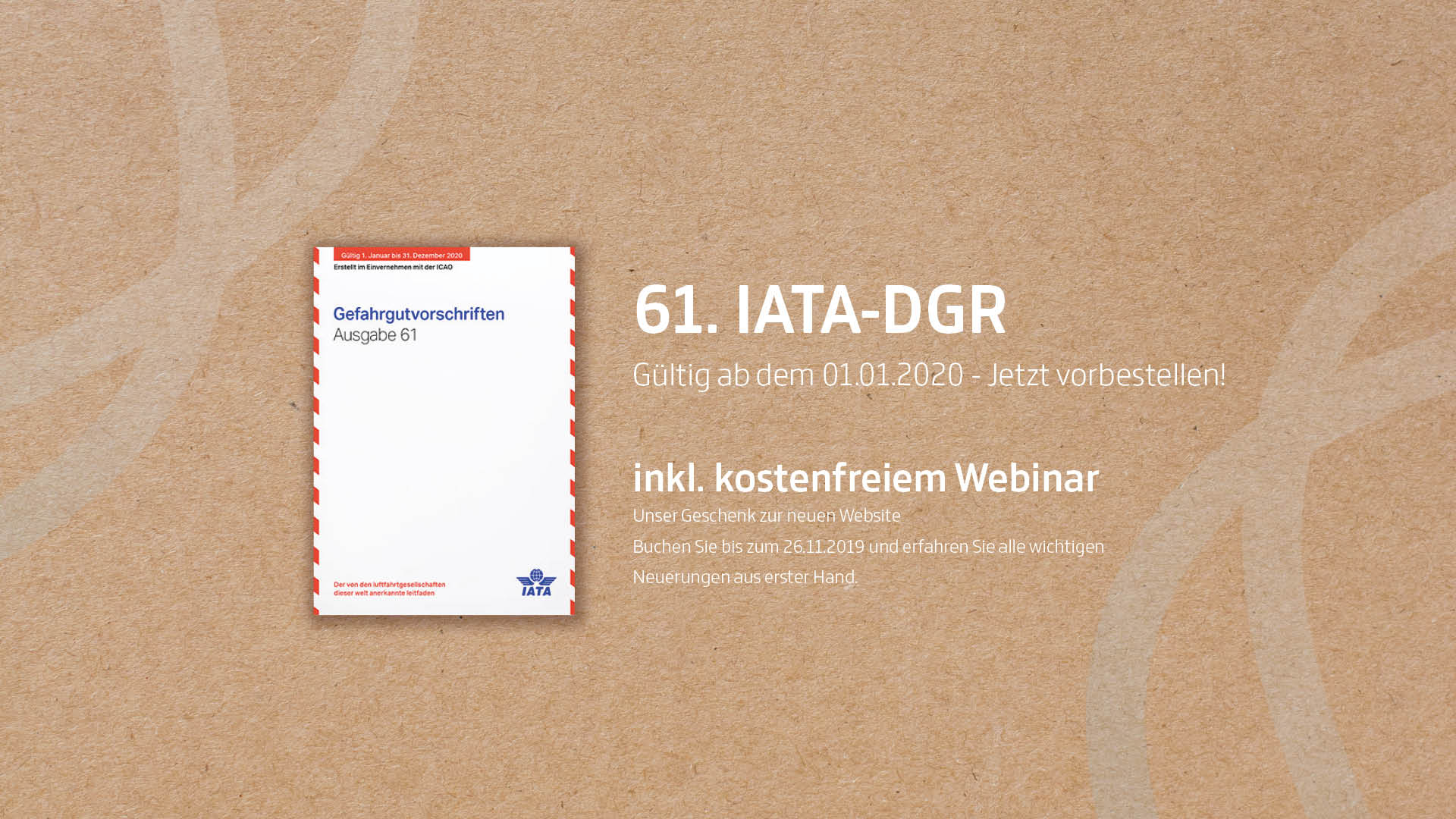 IATA DGR Gefahrgutvorschriften 2020