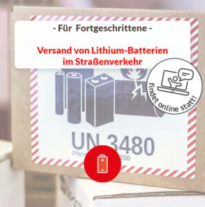 Lithium Batterie Versand Straßenverkehr