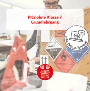 Grundlehrgang Luft: Verpacker (PK 2) ohne radioaktive Stoffe (Klasse 7)